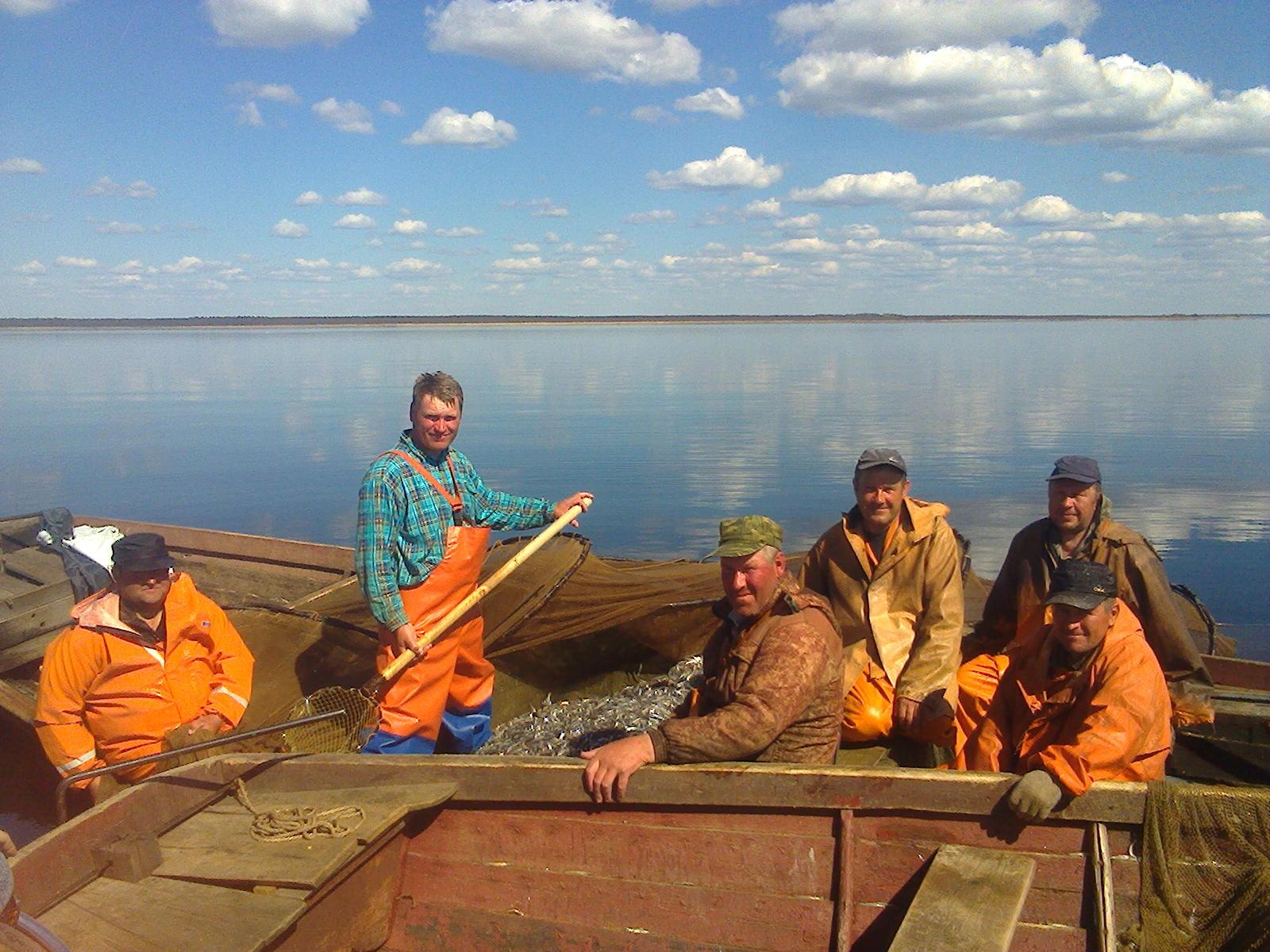 белозерские рыбаки