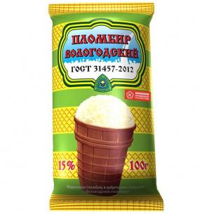 «Вологодский пломбир» в вафельном стаканчике вошел в число лучших марок мороженого